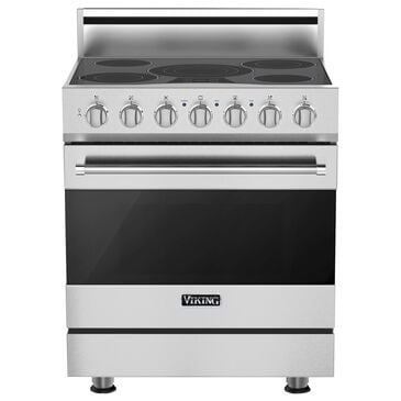 """Viking Range 30"""" Freestanding Electric Range with Self-Cleaning in Stainless Steel, , large"""
