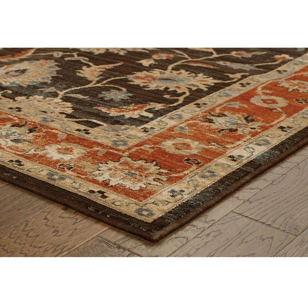 """Oriental Weavers Vintage 634N2 5'3"""" x 7'6"""" Navy Area Rug, , large"""