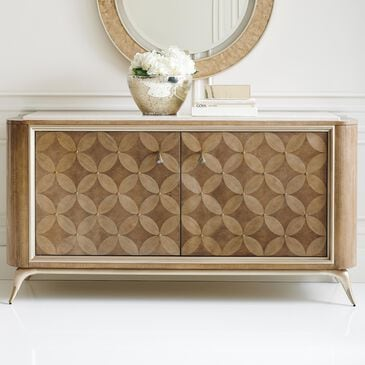 Schnadig Pattern Play Sideboard in Dappled Mink and Warm Reflections, , large