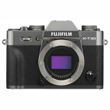 Fujifilm X-T30 Mirrorless Digital Camera Body Only in Charcoal Silver, , large