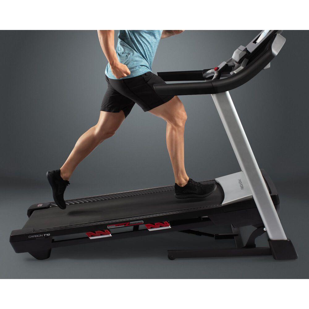 """ProForm Carbon T10 Treadmill + 40"""" x 80"""" Equipment Floor Mat , , large"""