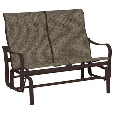 Tropitone Shoreline Double Glider with Gaviota Sling in Rich Earth, , large