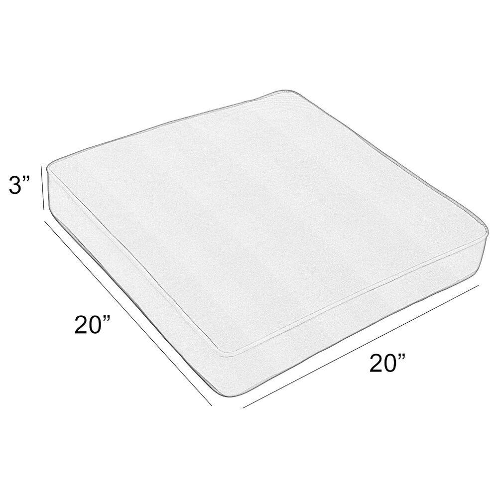 "Sorra Home Sunbrella 20"" Cushion in Canvas Black, , large"
