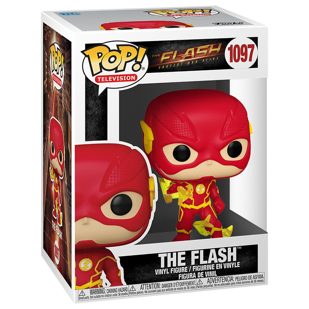 Funko Pop! Heroes The Flash with Lightning in Red, , large