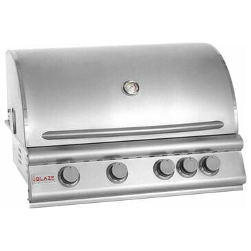 "Blaze 32"" Traditional Natural Gas Grill with 4-Burner in Stainless Steel, , large"