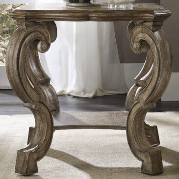 Hooker Furniture Solana Lamp Table in Light Caramel Latte, , large