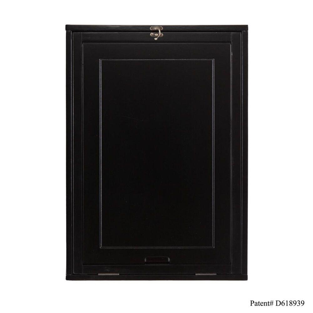 Southern Enterprises Fold-Out Convertible Desk in Black, , large