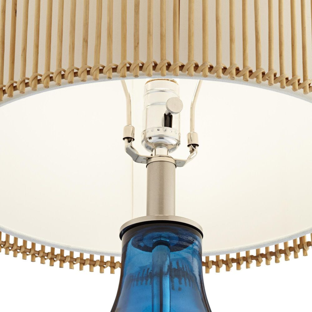 Pacific Coast Lighting Bamboo Bay Table Lamp in Blue-Sea, , large