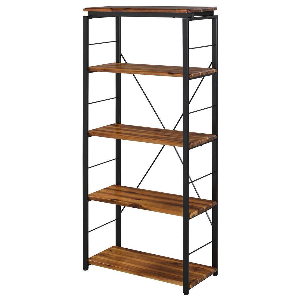 Gunnison Co. Jurgen Bookshelf in Oak/Black, , large