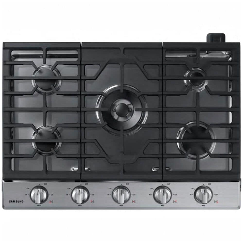 """Samsung 30"""" Gas Cooktop in Stainless Steel, , large"""