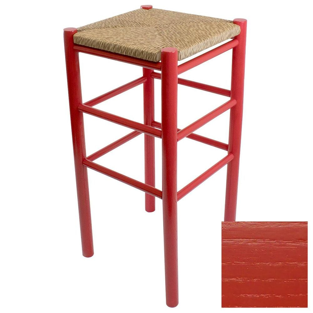 Lakeside Calabash Barstool in Sienna Red, , large