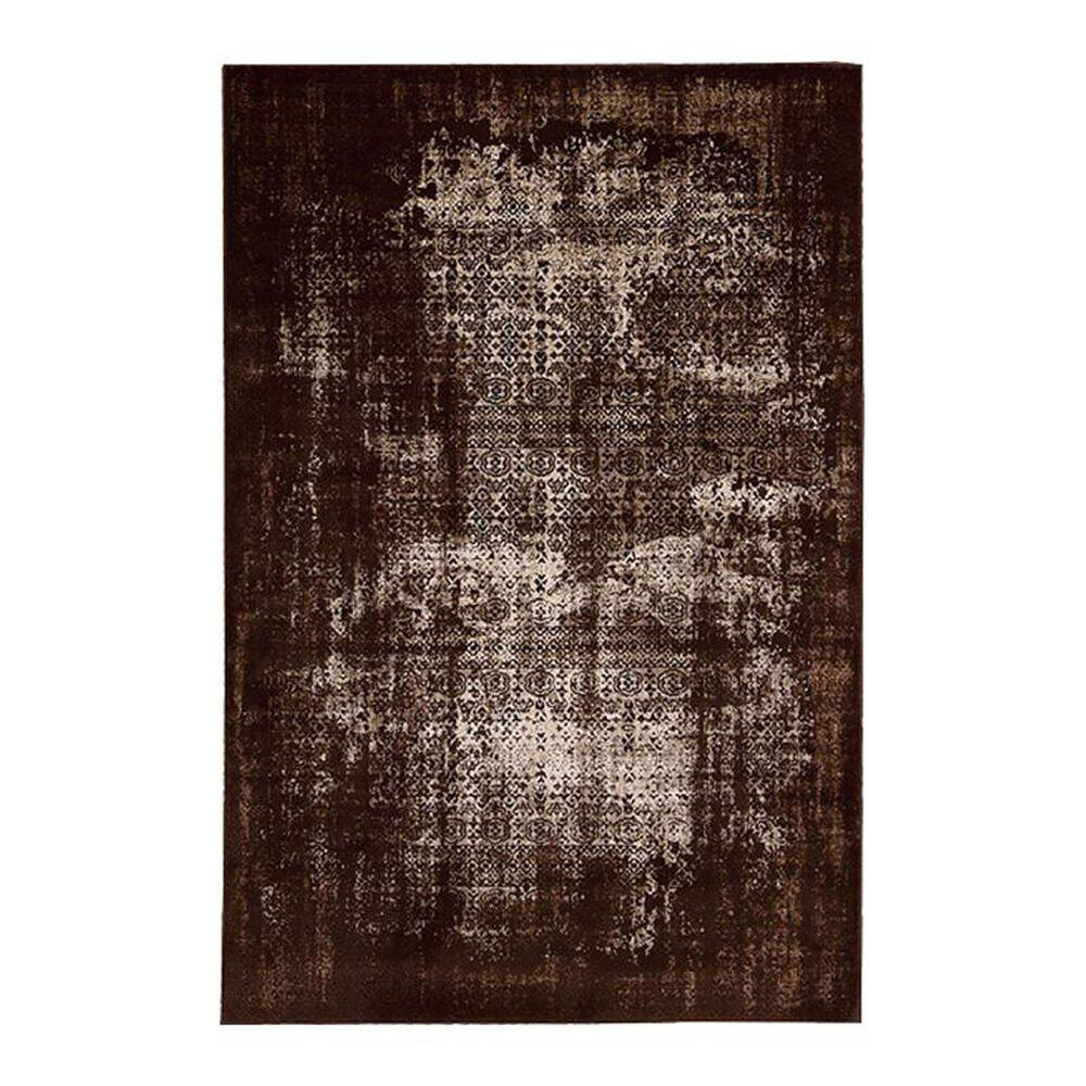 "Nourison Karma KRM01 3'9"" x 5'9"" Latte Area Rug, , large"