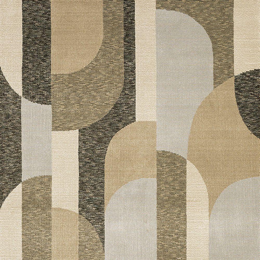 """Oriental Weavers Strada 3'3"""" x 5'2"""" Brown Area Rug, , large"""