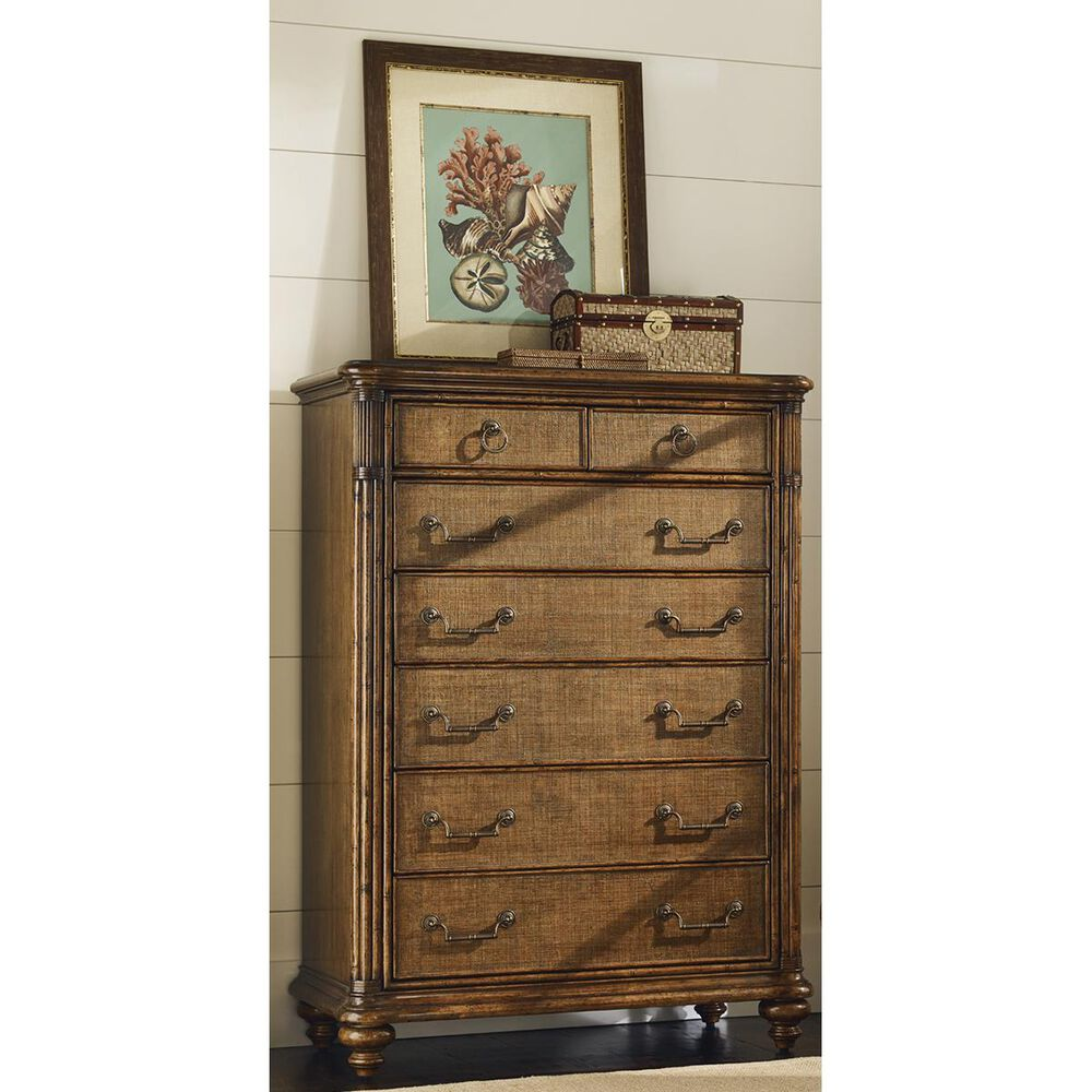 Tommy Bahama Home Bali Hai Tobago Drawer Chest in Warm Brown, , large