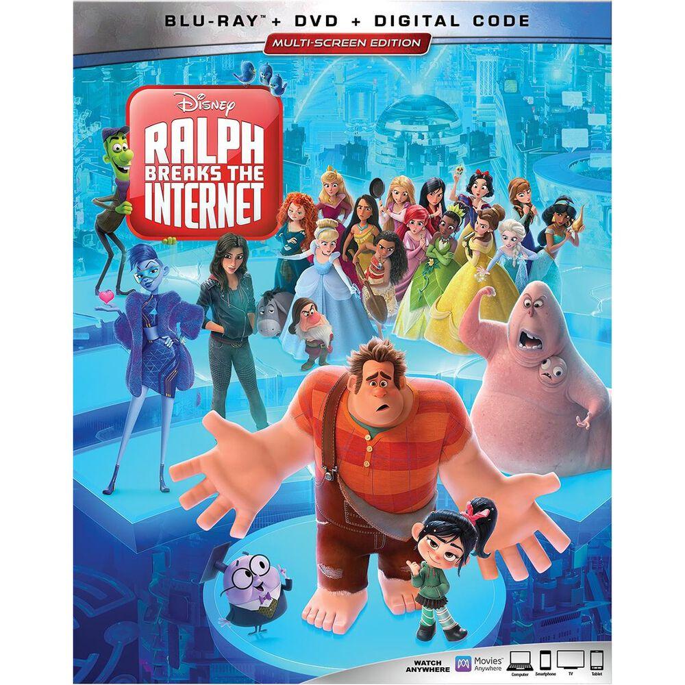 Wreck-It-Ralph 2: Ralph Breaks The Internet [Blu-Ray + DVD + Digital], , large