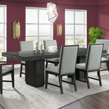 Mayberry Hill Donovan Dining Table in Sheek Cabernet - Table Only, , large