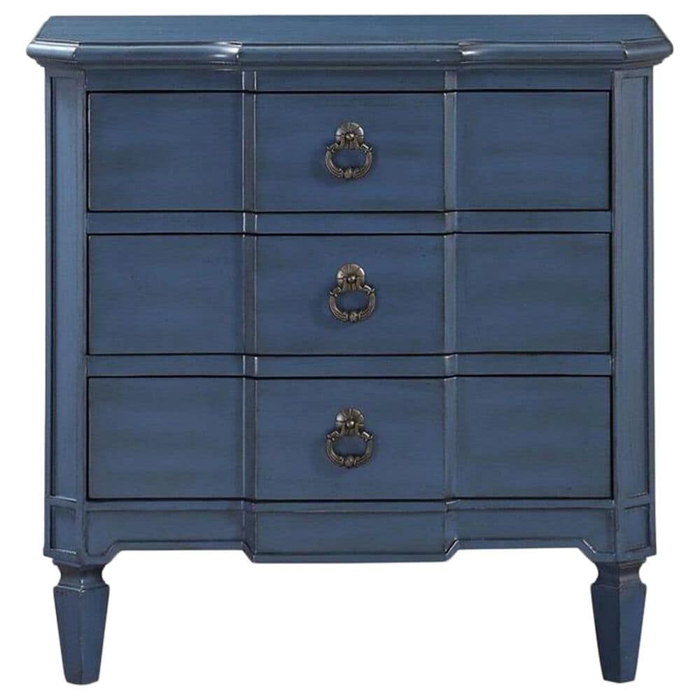 Shell Island Furniture 3-Drawer Chest in Antique Rub, , large