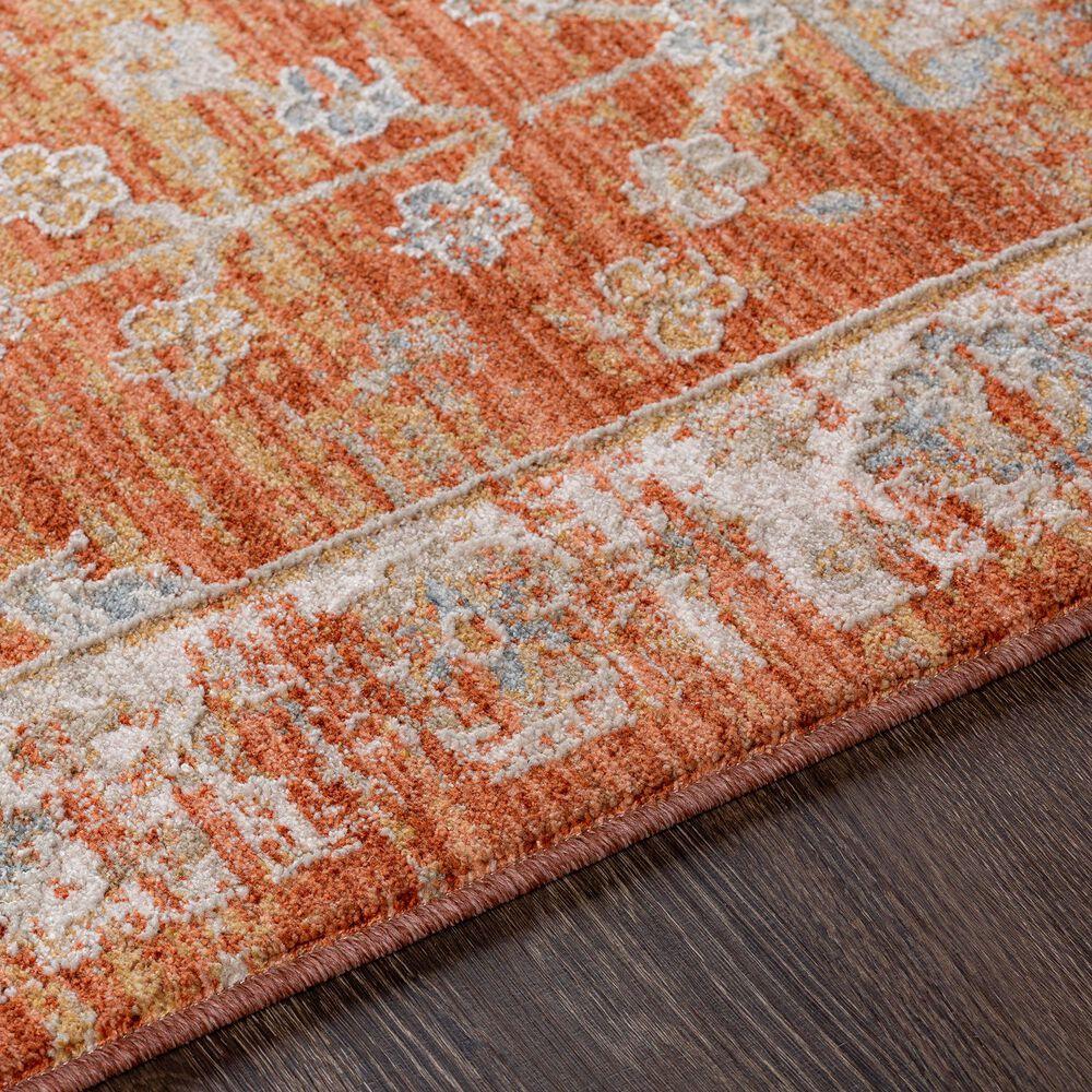"Surya Avant Garde 5' x 7'5"" Orange, Blue and Beige Area Rug, , large"