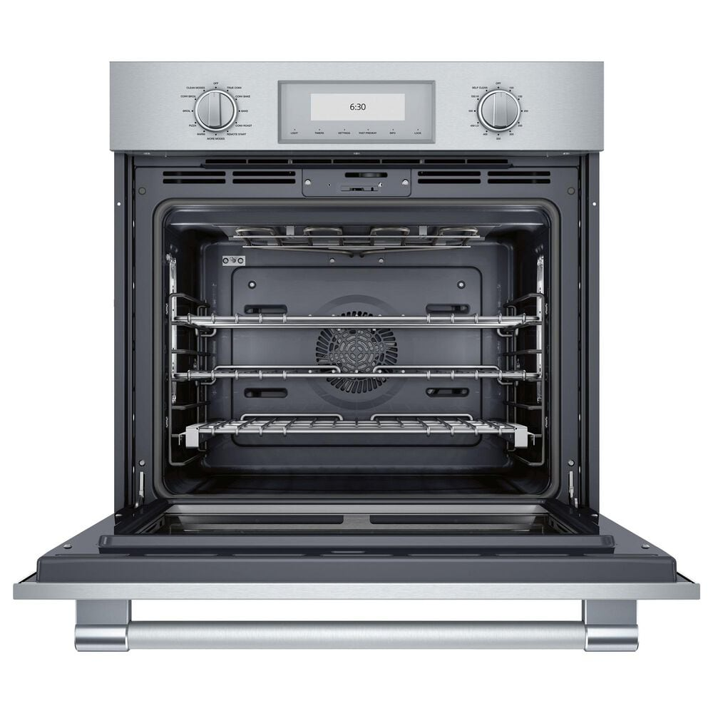 """Thermador 30"""" Professional Single Built-In SoftClose Door Electric Oven with Convection in Stainless Steel, , large"""