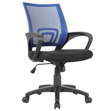 New Era Holding Group LTD Blue Mesh Back Desk Chair, , large