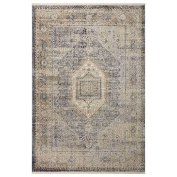"""Magnolia Home Janey JAY-02 2'7"""" x 4' Slate and Gold Area Rug, , large"""