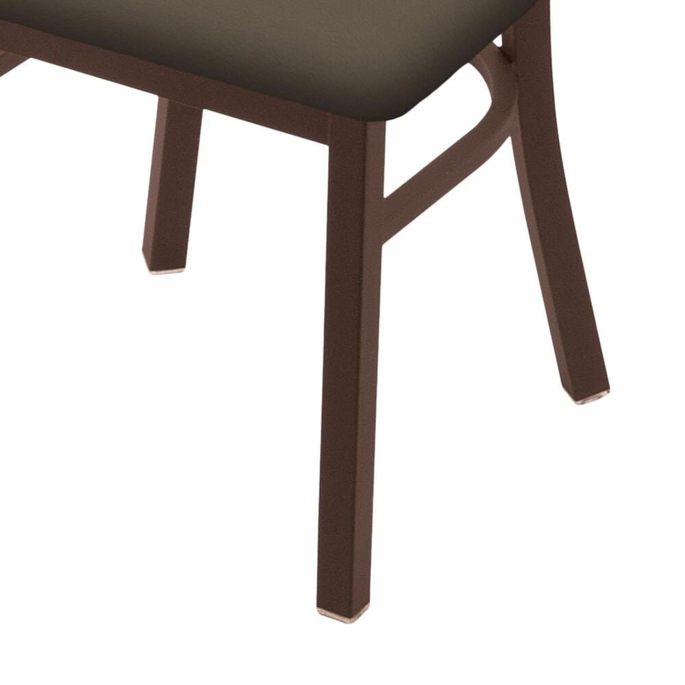 """Holland Bar Stool 620 Catalina 18"""" Chair with Bronze and Canter Earth Seat, , large"""