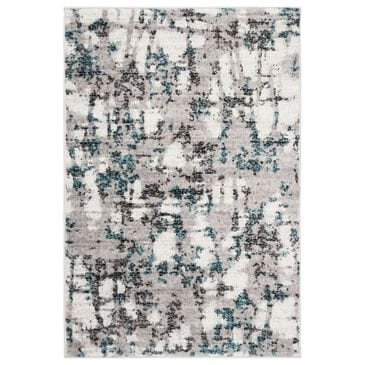 "Safavieh Skyler SKY193B 4"" x 6"" Gray and Blue Area Rug, , large"