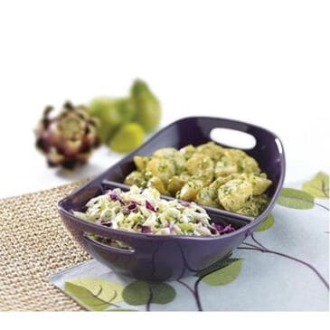 """Rachael Ray 14"""" Divided Dish, , large"""