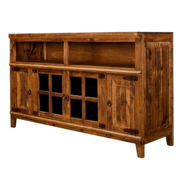 """Rustic Imports Hacienda 60"""" Tv Stand in Light Wax, , large"""