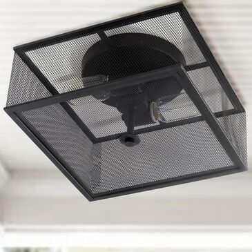 Safavieh Hagan Flush Mount in Black, , large