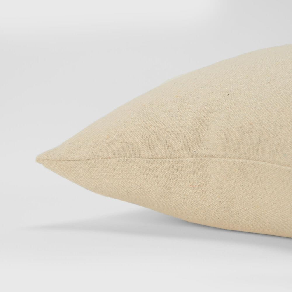 """Rizzy Home Sentiment 20"""" Pillow Cover in Natural, , large"""