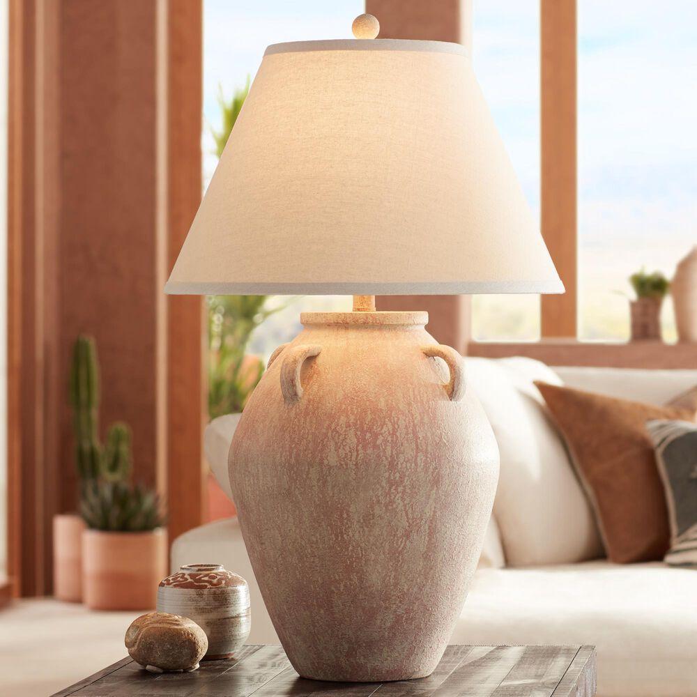Pacific Coast Lighting Ria Table Lamp in Blush Terracota, , large