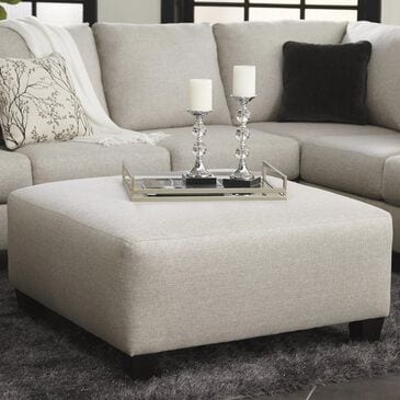Signature Design by Ashley Hallenberg Oversized Accent Ottoman in Fog, , large