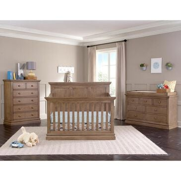 Eastern Shore Stone Harbor Crib, Dresser and Change Top in Cashew, , large