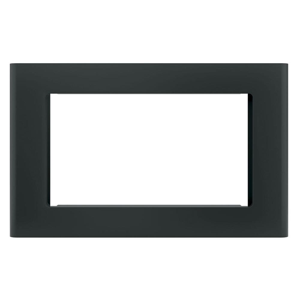 "GE Appliances 27"" Optional Built-In Microwave Trim Kit in Black, , large"