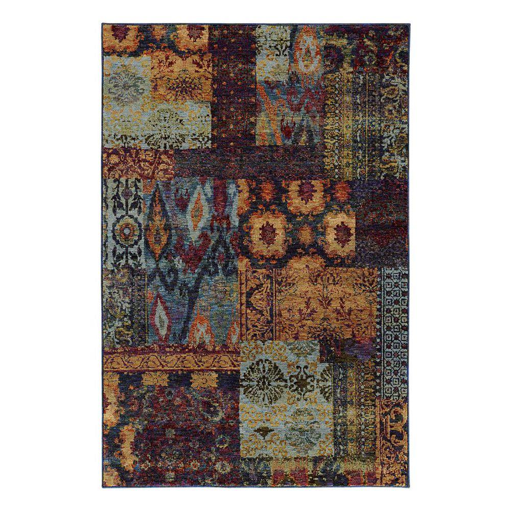 "Oriental Weavers Andorra 7137A 5'3"" x 7'3"" Multi Area Rug, , large"