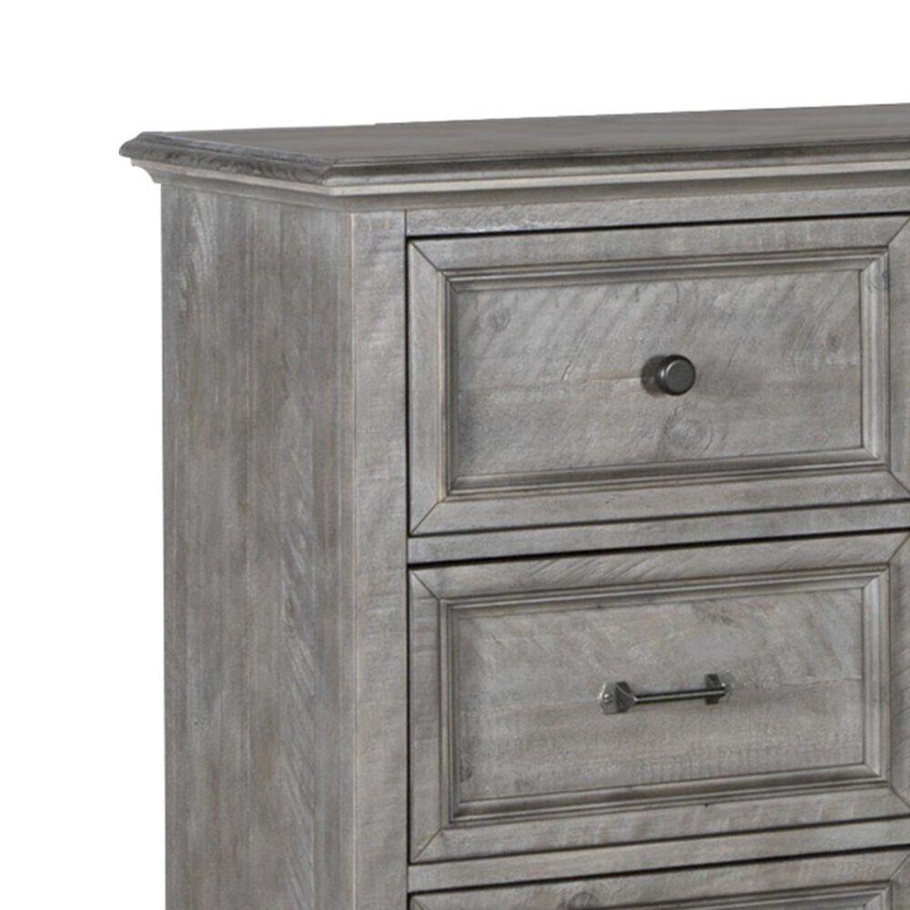 Nicolette Home Lancaster 9 Drawer Dresser in Dovetail Grey, , large