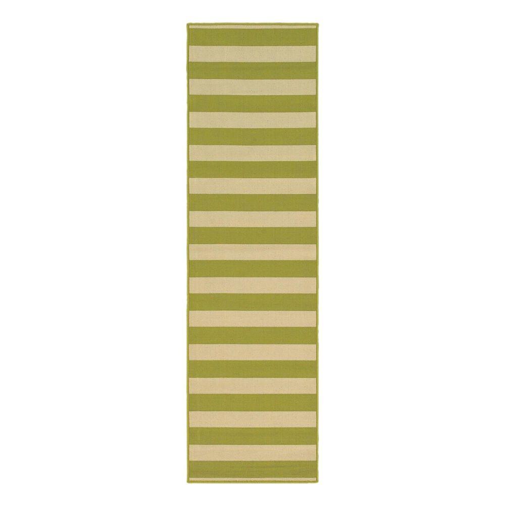 "Oriental Weavers Riviera 4768E 2""3"" x 7""6"" Green Runner, , large"