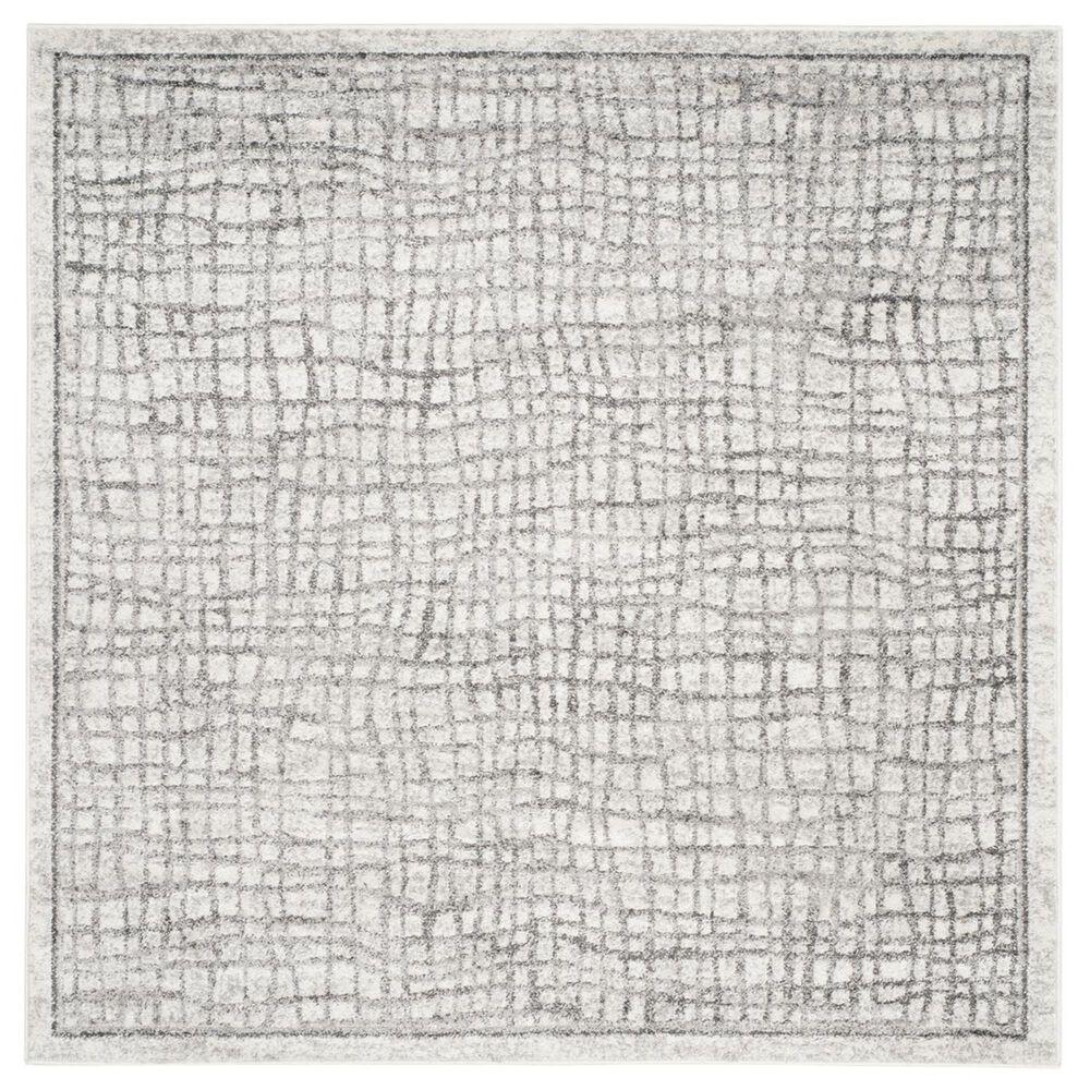 Safavieh Adirondack ADR103B-10SQ 10' x 10'  Silver/Ivory Square Rug, , large