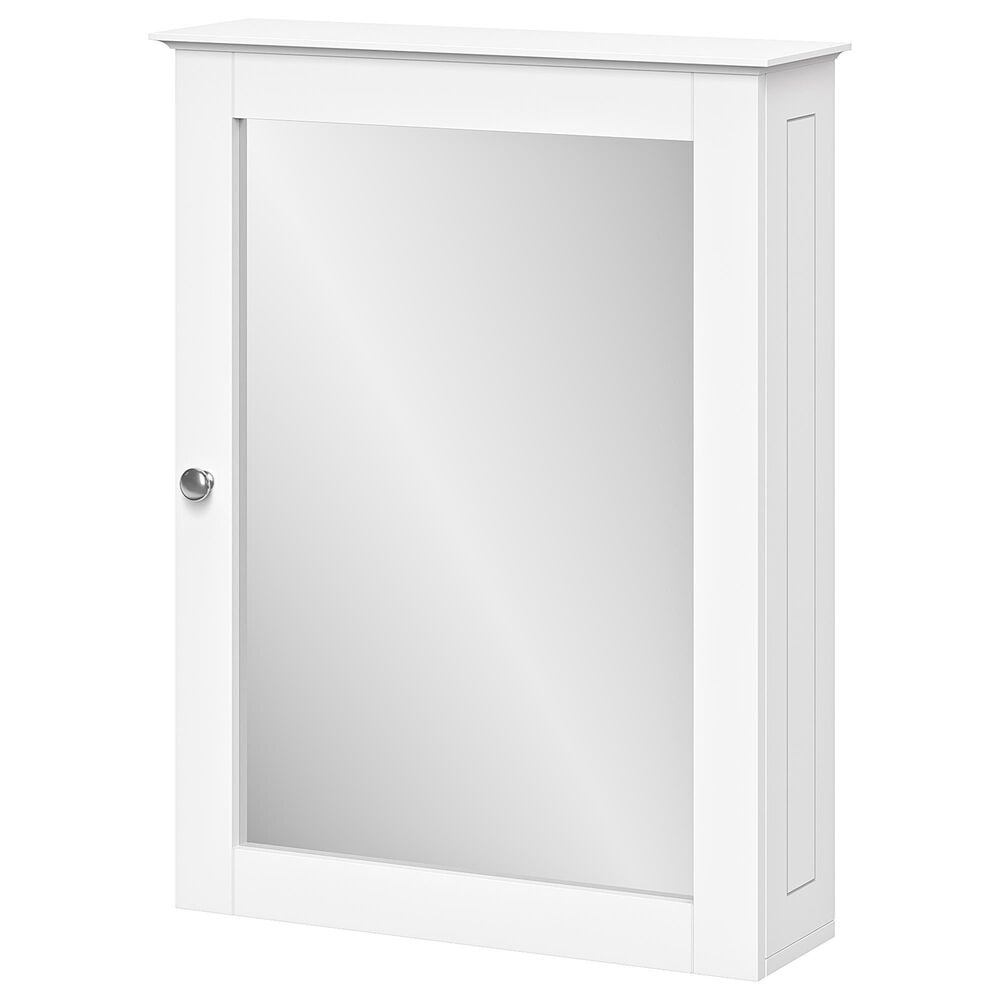 RiverRidge Home Ashland Wall Cabinet with Mirror in White, , large