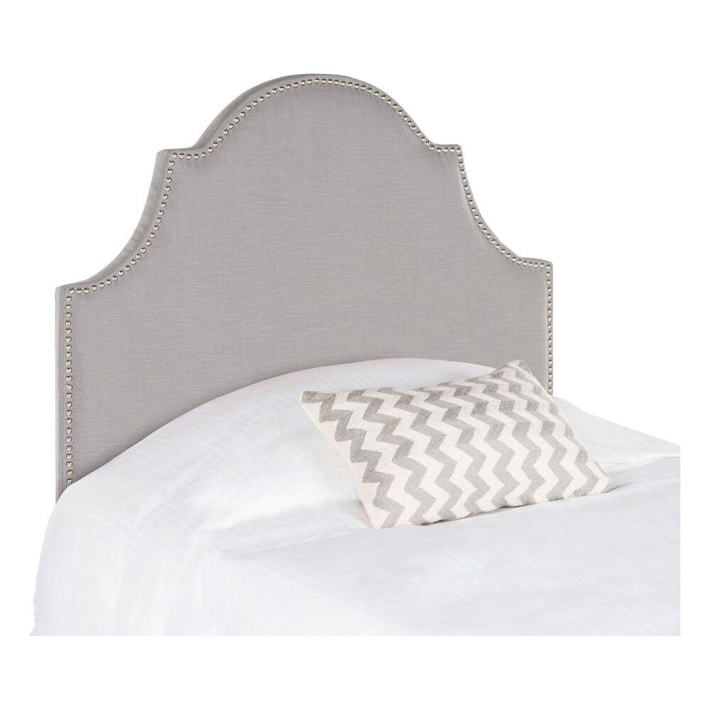Safavieh Hallmar Twin Headboard in Light Grey, , large