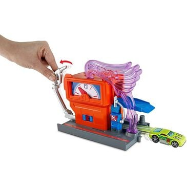 Hot Wheels City Downtown Super Fuel Stop Play Set, , large