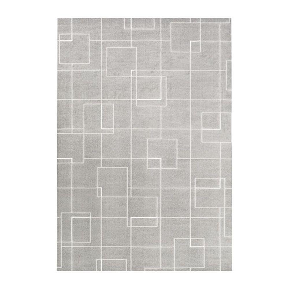 "Surya Contempo CPO-3717 7""10"" x 10"" Gray and White Area Rug, , large"