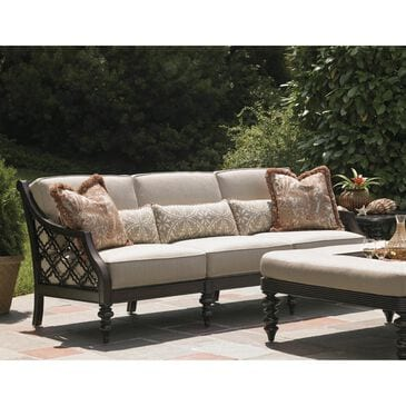 Tommy Bahama Outdoor Living Black Sands Sofa in Taupe, , large