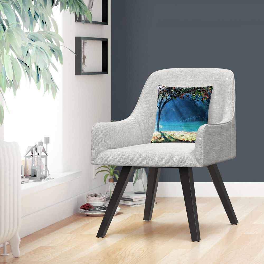 Timberlake Beata Czyzowska Young 'Rays of Hope' 16 x 16 Decorative Throw Pillow, , large