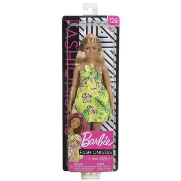Barbie Fashionista Doll with Long Strawberry Blonde Hair, , large