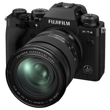 Fujifilm Fujifilm X-T4 Mirrorless Digital Camera with XF16-80mm F4 R OIS WR Lens in Black, , large