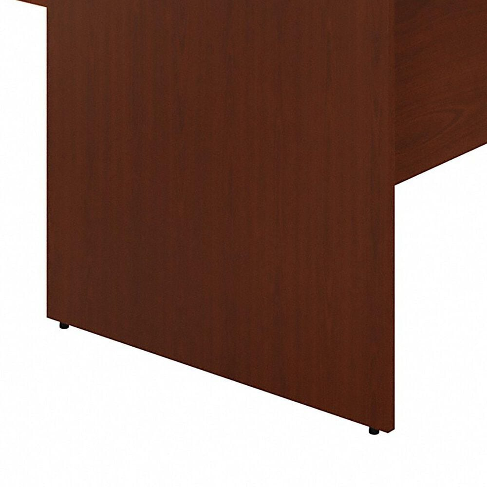 """Bush 60"""" U-Shaped Desk with File in Autumn Cherry, , large"""