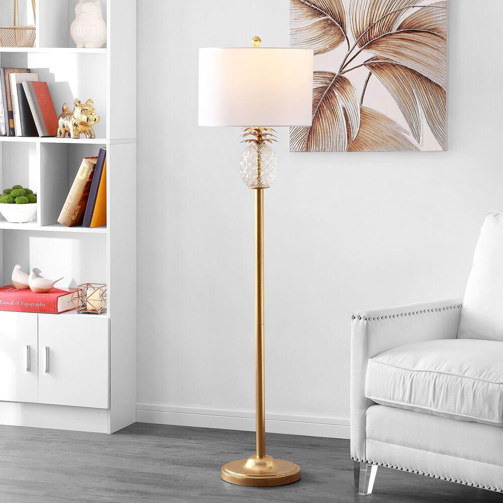 Safavieh Elza Floor Lamp in Gold, , large