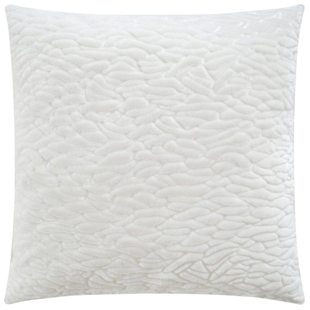 "D.V.Kap Inc 24"" Feather Down Decorative Throw Pillow in Callard-Snow, , large"